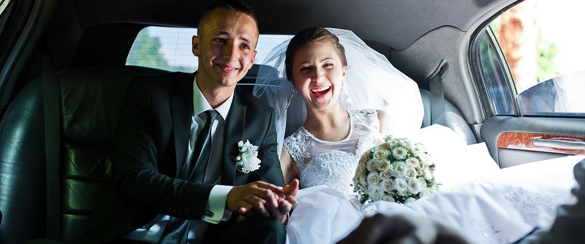 wedding limo service image