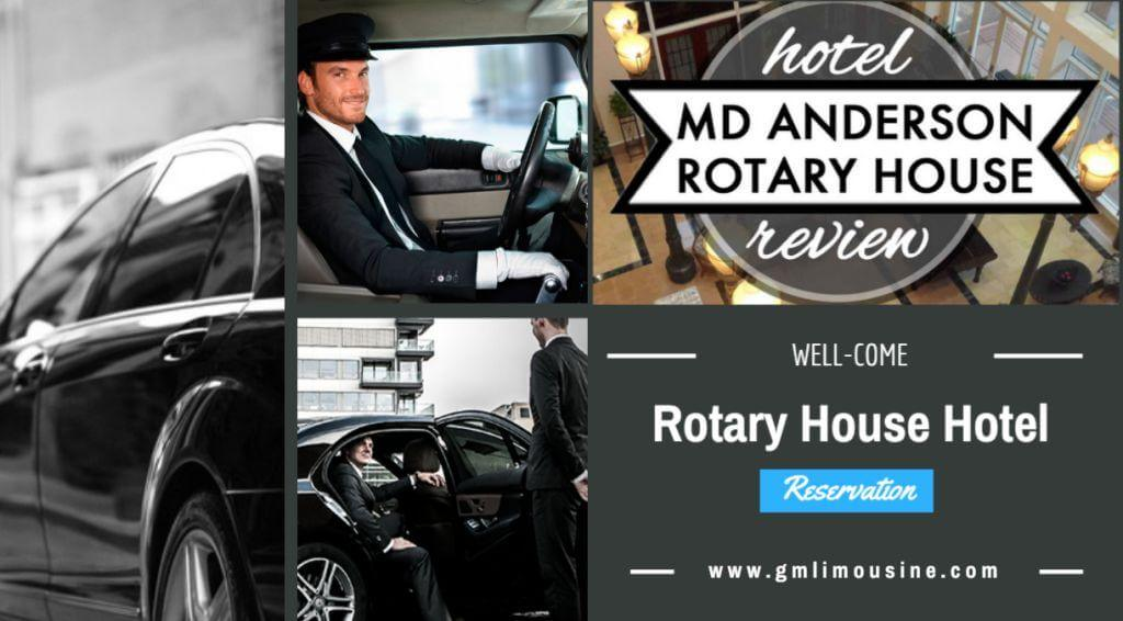 limo taxi service to and from Rotary House Hotel