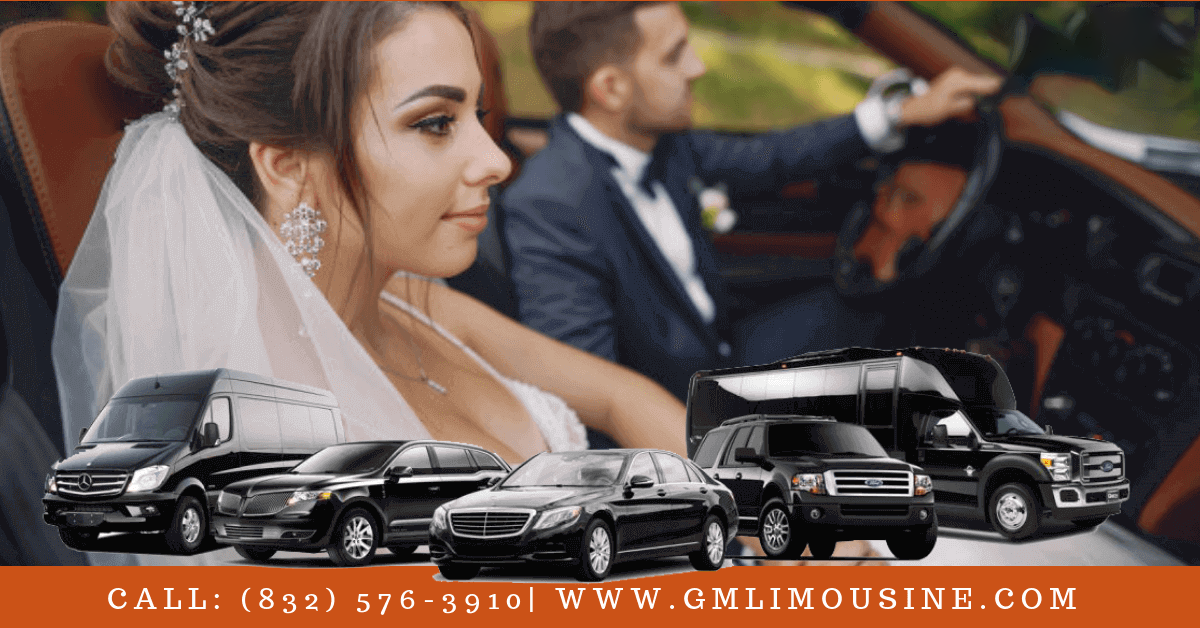 Wedding Limousine on Special Day In Houston