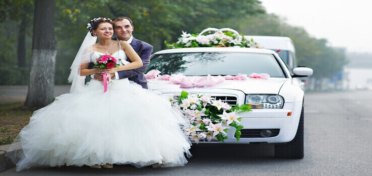 wedding transportation limousine service in Houston